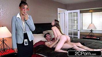 Ролевые дурачества двух порнозвезд